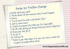 quotes about positive change | Positive change