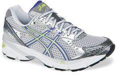 Fave running shoes.  Too bad they're so ugly :-(  I wish Aesics would change the look of this shoe!