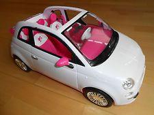 Barbie Auto Fiat 500 von Mattel