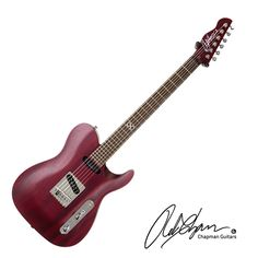 Riff City Guitar - Chapman ML-3 Rob Chapman Signature Guitar - Satin Cherry with Gig Bag, $819.00 (http://www.riffcityguitaroutlet.com/chapman-ml-3-rob-chapman-signature-guitar-satin-cherry-with-gig-bag/)