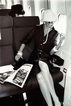 Vogue April 1973 ~ Jet set...