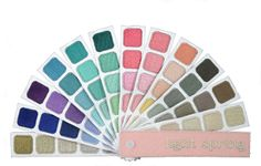 indigo tones personal color plume swatch book for light spring color harmony