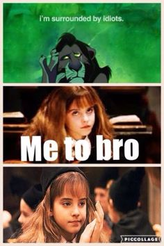 harry potter memes Lion king and Harry Potter Hermione is surrounded by idiots. - Meme Shirts - Ideas of Meme Shirts - Lion king and Harry Potter Hermione is surrounded by idiots. Harry Potter Disney, Harry Potter Hermione, Harry Potter World, Images Harry Potter, Mundo Harry Potter, Harry Potter Spells, Harry Potter Jokes, Harry Potter Characters, Harry Potter Fandom