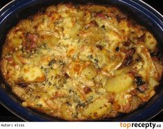 """""""Veršované"""" brambory - Top Recepty.cz Gnocchi, Macaroni And Cheese, Recipies, Food And Drink, Ethnic Recipes, Recipes, Mac And Cheese"""