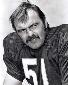 Does Dick Butkus have the best mustache in the Pro Football Hall of Fame? #Movember