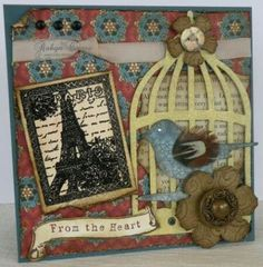The bird cage idea is adorable