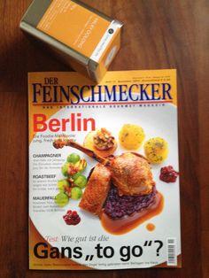 """Famous German Gourmet Magazine """"Der Feinschmecker"""" recommends our Milky Oolong Tea. http://www.lieblingstee.de/oolong/29/milky-oolong?c=32"""