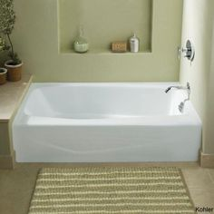 Soaker tubs are part of the dream home and owning a small bathroom doesn't mean you can't enjoy the aroma, sensation and relaxation of a good soaker tub.