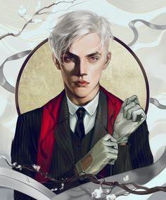 Commission: Albino by elena-nekrasova on DeviantArt