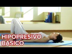 GIMNASIA EN CASA - CONSIGUE UN VIENTRE PLANO CON EJERCICIOS HIPOPRESIVOS - YouTube