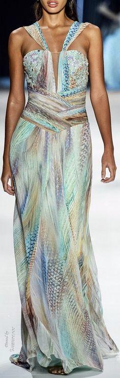 Victor Dzank stunning gown