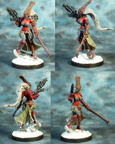 The Internet's largest gallery of painted miniatures, with a large repository of how-to articles on miniature painting Infinity The Game, Army, Miniatures, Gallery, Painting, Bonito, Gi Joe, Military, Roof Rack