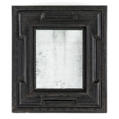 18 C. Dutch Ebonized Mirror