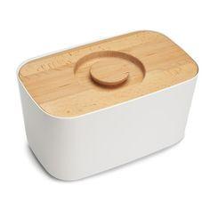 Joseph Joseph - Melamine Crumb Board Bread Bin - White