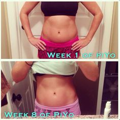 This is my before and after doing 2 months… Beachbody Piyo, Fitness Goals, Fitness Motivation, Night Yoga, Lose Weight In A Week, Weight Loss Challenge, Shakeology, Yoga Flow, Cardio Pilates