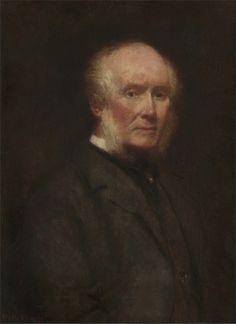 William Powell Frith · Autoritratto a ottantatré anni · 1901 · Yale Center for British Art