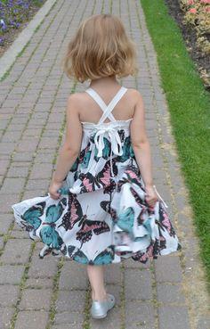 Paper Wings Butterfly Dress