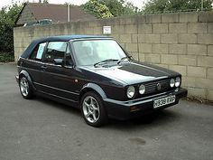1990 Volkswagen Golf Cabrio Gti Blue Taxed And Moted - http://www.vwgticarsforsale.com/1990-volkswagen-golf-cabrio-gti-blue-taxed-and-moted/