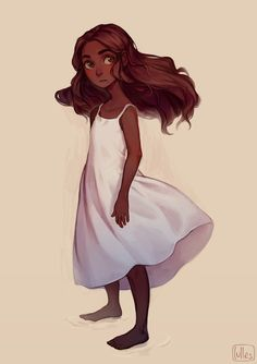 Girl by lulles character design girl, character design inspiration, little girl drawing, character Character Design Cartoon, Character Drawing, Character Design Inspiration, Character Reference, Black Girl Art, Art Girl, Pretty Art, Cute Art, Cat Alice