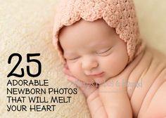 25 Adorable Newborn Photos That Will Melt Your Heart!