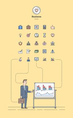 Business - Landing Page Icons - Designmodo Market
