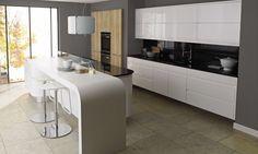 Remo Gloss White kitchen