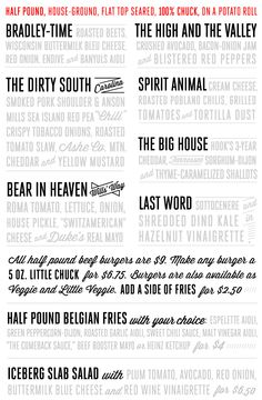 Chuck's  Categories: Burgers, Fast Food  [Edit]  237 S Wilmington St  Raleigh, NC 27601  (919) 322-0126  www.ac-restaurants.com  Hours:  Mon-Wed, Sun 11:30 am - 10 pm  Thu-Sat 11:30 am - 12 am  Good for Groups: Yes  Accepts Credit Cards: Yes  Parking: Street  Attire: Casual