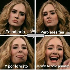 En tu cara feaa Lol Memes, Stupid Funny Memes, Funny Spanish Memes, Spanish Humor, Ungrateful Quotes, Funny Images, Funny Pictures, Fake Friendship, Boss Bitch Quotes