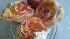 Art de Fruita: Rosas de manzana con crema de naraja