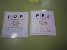 ei Pop P, Busy Bags, Creative Teaching, Baby Play, Special Education, Montessori, Literacy, Projects To Try, Language