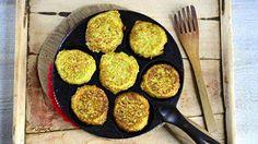 Kukkakaalista ja hernerouheesta valmistuu makoisat kasvispihvit.  (Korvaa kananmuna jollain muulla!!)