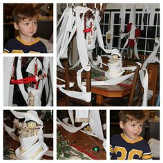 Elf on the Shelf TP'd! Snack Tables and Sink Area in Rm #31