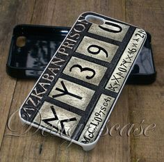 Azkaban Prison Plat Case for iPhone Case,Ipod Touch Case, Samsung Galaxy Case, Xperia Case, HTC Cases Available Rubber Plastic