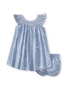 Baby CZ by Carolina Zapf Baby Evie Dress (Hampton Paisley)