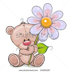 Stock Images similar to ID 327384224 - cute cartoon teddy bear with...