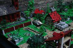 2.1944+Eastern+Front Lego Ww2, Lego Army, Lego Display, Lego Boards, Lego Pictures, Amazing Lego Creations, Lego Craft, Lego Builder, Lego Construction
