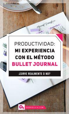 Mi experiencia con Bullet Journal: ¿Sirve realmente? #productividad #habitos #bulletjournalespañol #bujo