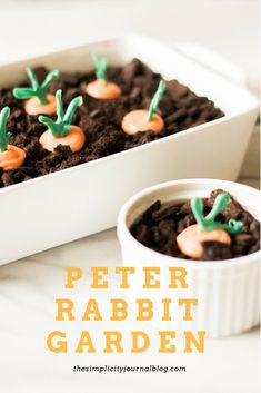 "Growing up I LOVED ""dirt"" desserts. The chocolate pudding, the oreos, the secret gummy worms! They're still one of my favorites and are so easy to make in a pinch. Since Easter is…"