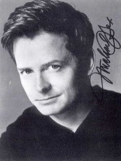 Michael J. Fox was born 1961 in Edmonton, Alberta, but lived in various towns and cities across Canada.  He went to high school in Vancouver.  He is famous for his roles as Marty McFly in the Back to the Future trilogy, Alex P. Keaton on the sitcom Family Ties, for which he won three Emmy awards, and NYC Deputy Mayor Mike Flaherty on the TV series Spin City, for which he won his fourth Emmy award.  He s and avid advocate of Parkinson suffers.