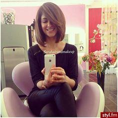 Półdługie fryzury: mega dziewczęce cięcia, które dodadzą Ci uroku - Strona 14