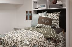 Everything is customized by you! #dorm #bedding