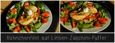 Hähnchenfilet auf Linsenpuffer Puffer, Kung Pao Chicken, Clean Eating, Healthy Recipes, Ethnic Recipes, Fitness, Food, Food Dinners, Recipes