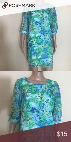"""Anthropology new dress size petite medium Brand-new with tag new direction dress. Length 34.5 inches sleeves 16 """" new directions Dresses Mini"""