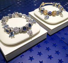 Embrace the season by adding some Winter Blues to your bracelet! #pandoramidtown #pandora #pandorabracelet #pandoraaddict #pandorainlove #pandorainspired #bracelet #jewelry #sparkle #silver #blue #gold #pretty #winter #fashion #style #ootd #wishlist #ideas #you #expressyourself #gift #snowflake #heart #moon #stars #womensfashion #saskatoon #yxe