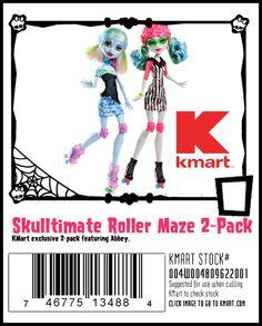 KMart Exclusive Skultimate Rollermaze 2 Pack