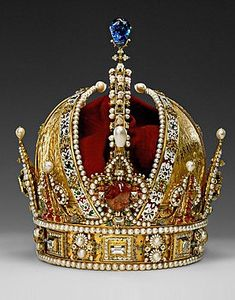 The Austrian Imperial Crown (the personal crown of Rudolf II)  1804 - 1918