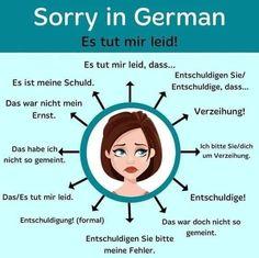 Study German, German English, German Grammar, German Words, German Language Learning, Language Study, Spanish Language, Deutsch Language, Language Immersion