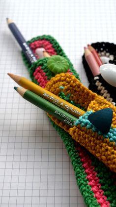 ingthings | crochet DIY pen/pencil case #tutorial (Dutch and English) #freecrochetpattern