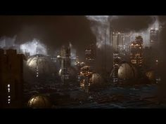 Cinema 4D Tutorial - Create a Futuristic City Using Octane Scatter and Volumetrics - YouTube