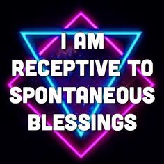 """✨I am open. I am ready. I say """"Yes"""" to this experience. I am allowing. I am welcoming. I am inviting. I am receiving. I am attracting. I am breathing it all in. I am receptive to spontaneous blessings. And I am grateful. ✨ #affirmations #affirmation #sacredradical #lawofattraction #unity #consciousness #divine #sacred #blessings #heaven #love #radicallove #peace #bliss #bless #miracle #spirit #courage #fun #play #quotes #plur #hippie #spirituality #mystic #intention #gratitude #quote"""